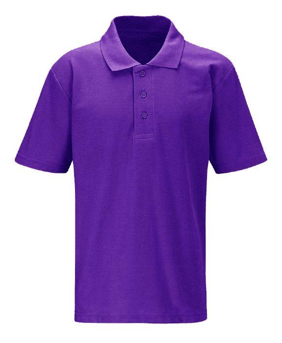Mapac printed embroidered school uniform bags for Purple polo uniform shirts
