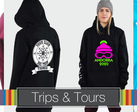Trips and Tours Hoodies